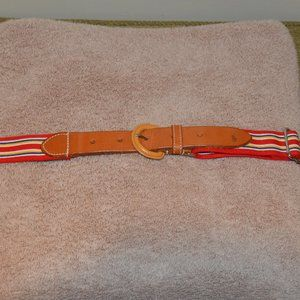 Polo Striped Belt